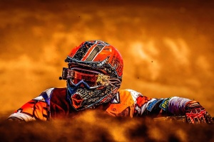 motocross, motorcycle, biker, helmet, man, person, race