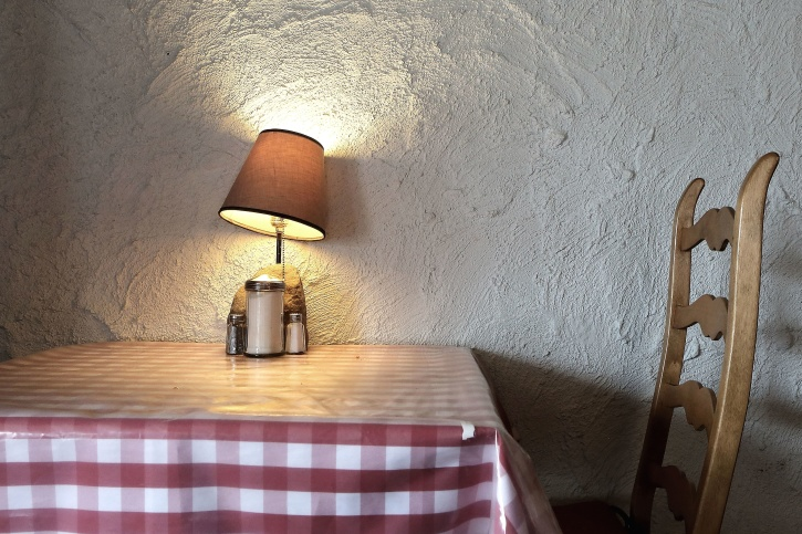Free picture: lampshade, table, chair, lamp, interior, furniture
