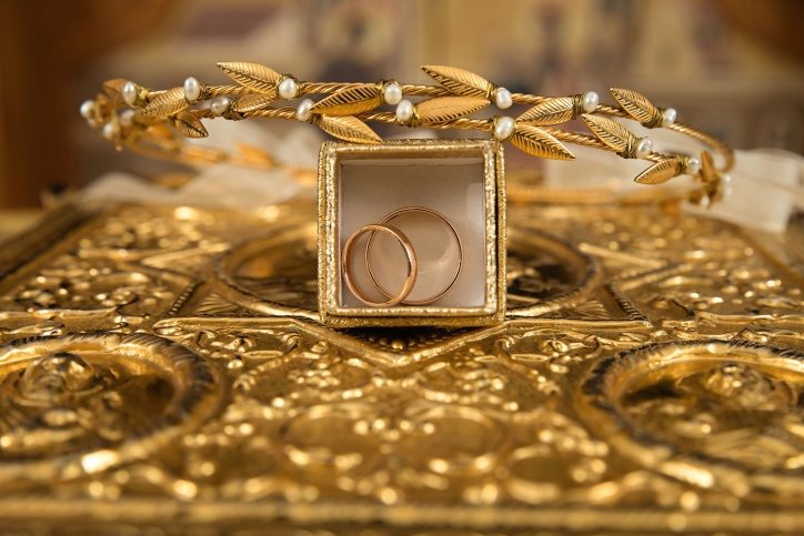 gioielli, oro, regalo, oro, lusso, anelli