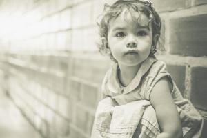 adorable, baby, girl, portrait, kid, child, portrait