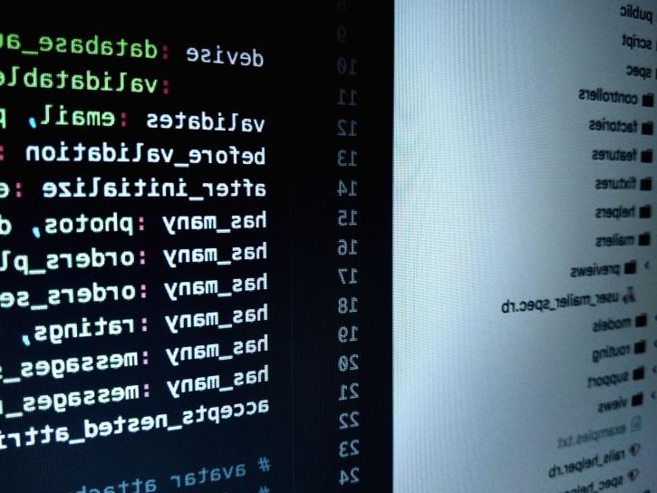 računalo, monitor, autor, kodiranje, računalni program, skripta, sigurnost, softver