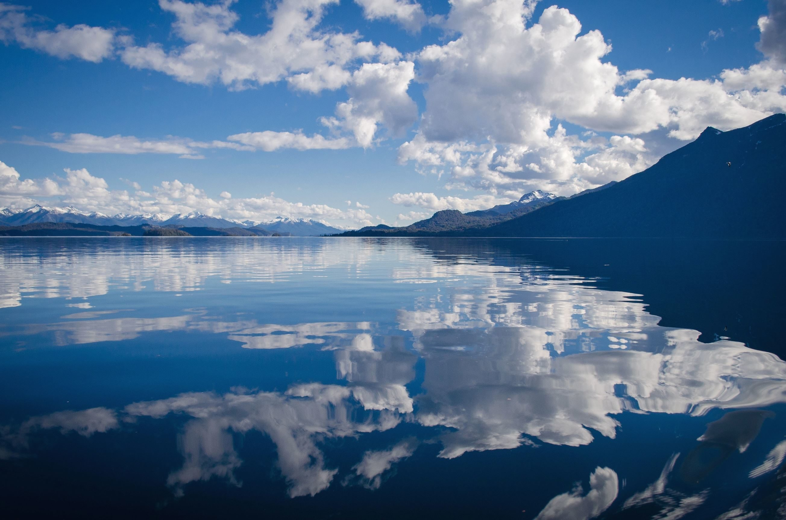 Free picture: landscape, mountains, clouds, lake, nature ...
