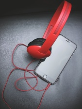 smartphone, sound, technology, wire, cord, device, electronics, headphone