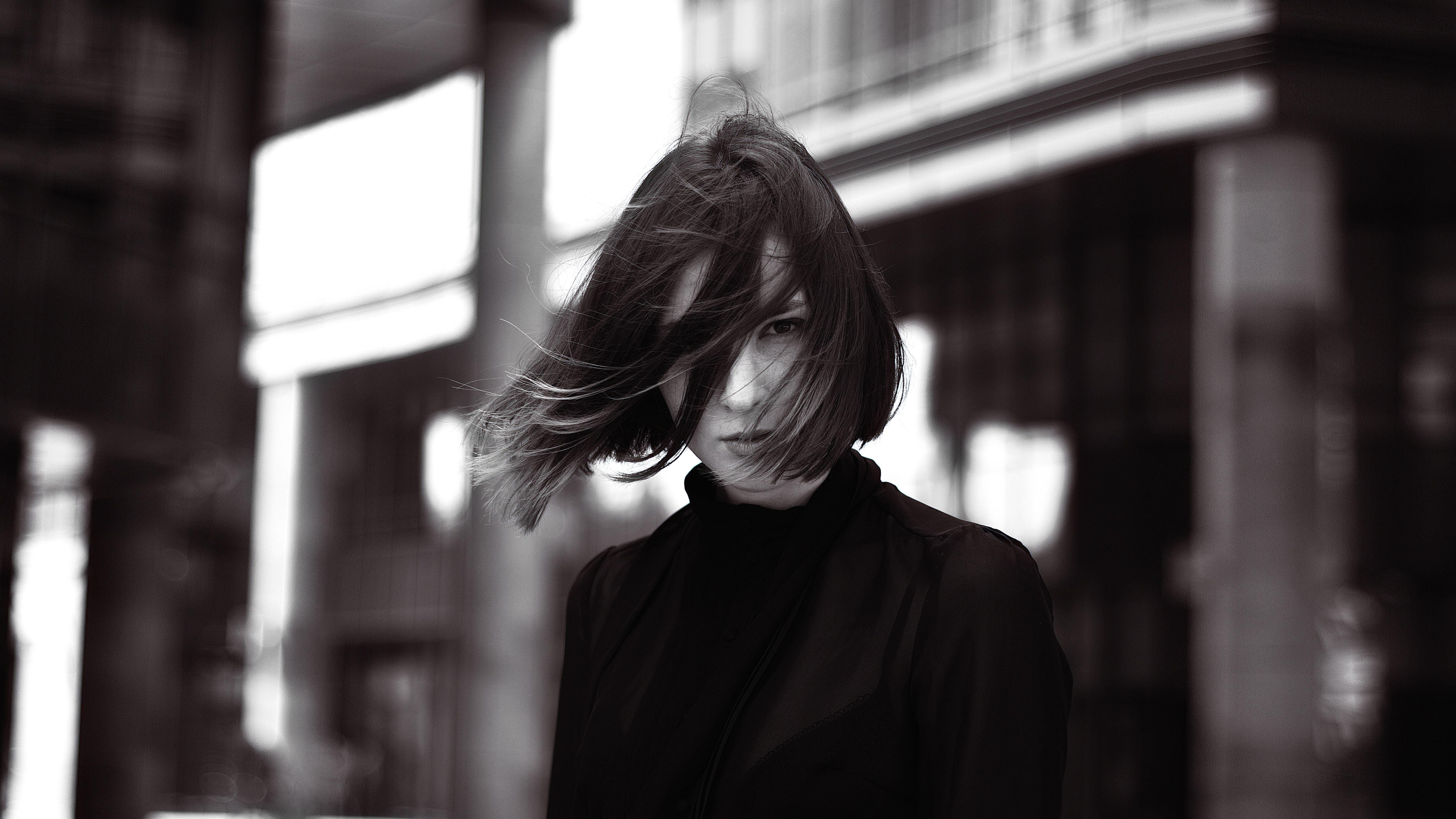 Fashion Pretty Girl Photo Model Person Wind Woman