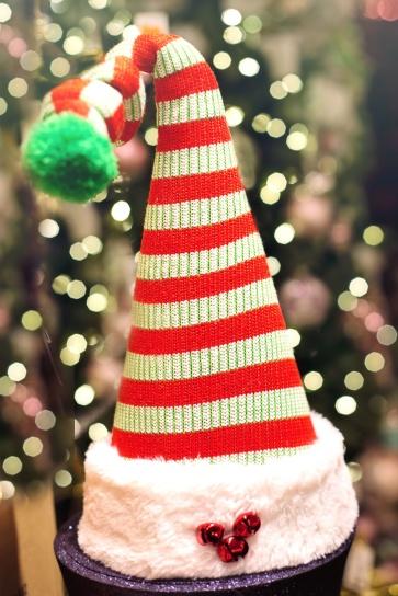 jul, dekoration, hat, traditionelle, vinter
