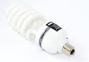 light bulb, white, fluorescent, lamp