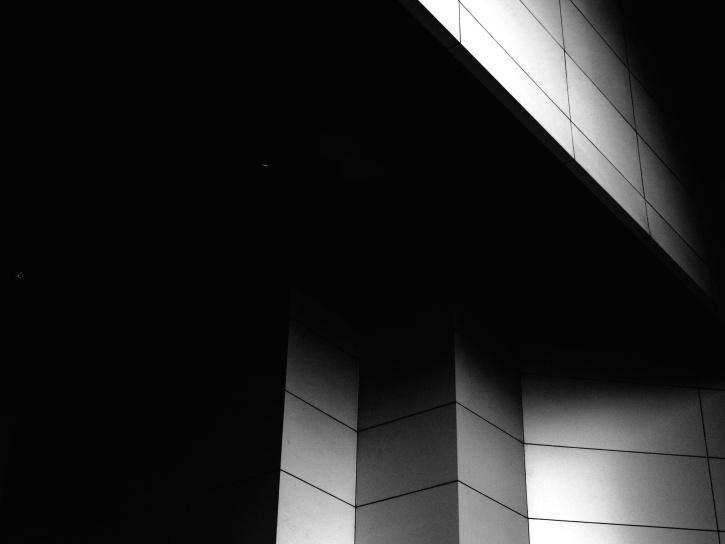 건물, 관점, 벽, fasade