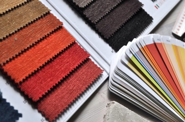 coloré, affaires, catalogue, tissu, couleur, texture, peinture, papier