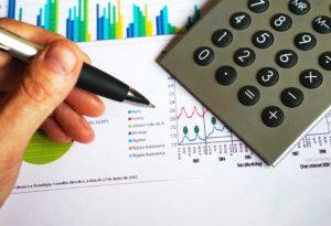 negocios, calculadora, gráfico, computación, datos, electrónica