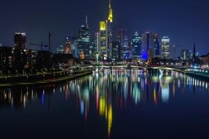 torre, urbano, fiume, architettura, ponte, edifici, affari, città