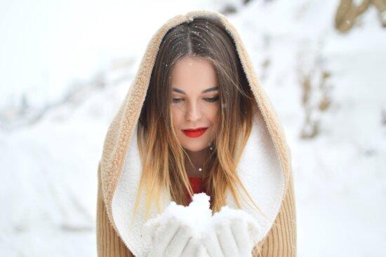 beautiful girl, portrait, cold, fashion, girl, hair, model