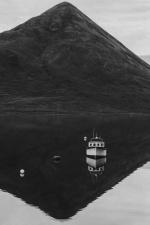 mer, l'eau, bateau, île, bateau
