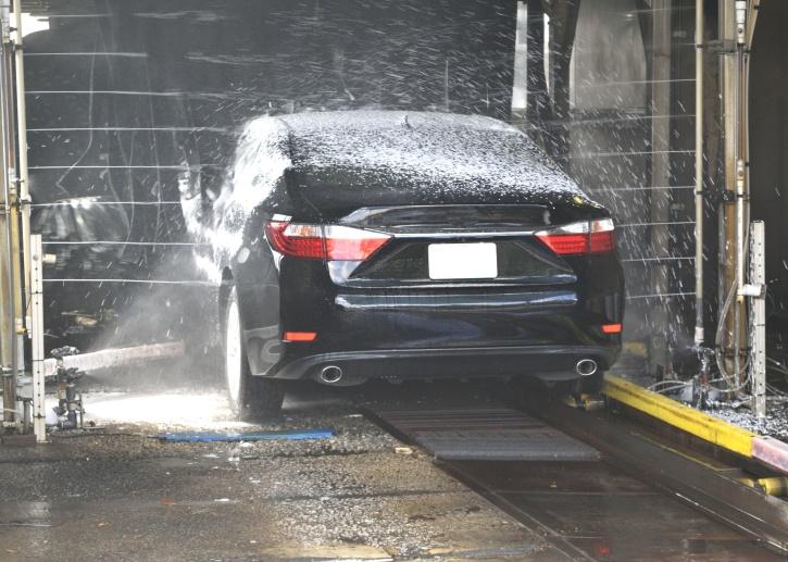 洗涤, 水, 汽车, 商业, 汽车, 洗车场