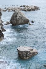 rocks, sea, seascape, water, nature