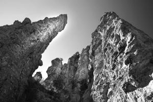 geology, stone, monochrome, mountain