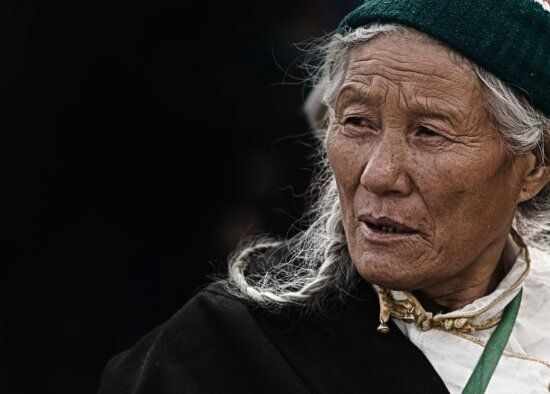 old woman, elderly, granny, face, grandmother, old, portrait