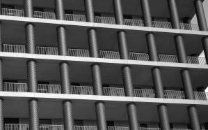 čelika, urbane, windows, arhitektura, zgrada, ograda