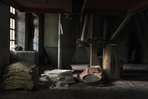 παραγωγή σάκων, κλωστοϋφαντουργικών προϊόντων, εργοστάσιο, εσωτερικό