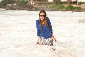 putovanje, odmor, vode, valova, žena, plaže, uživanje, moda, zabava, otok