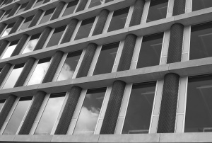 odraz, visok, windows, arhitektura, izgradnju, poslovanje, suvremeni, dizajn