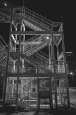 arhitektura, zgrade, grad, gradnja, centar grada, stubište, čelika, ulice, urbani