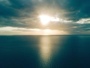 Reisen, Wasser, Wetter, Strand, Schönheit, Ruhe, Wasser, Wolke