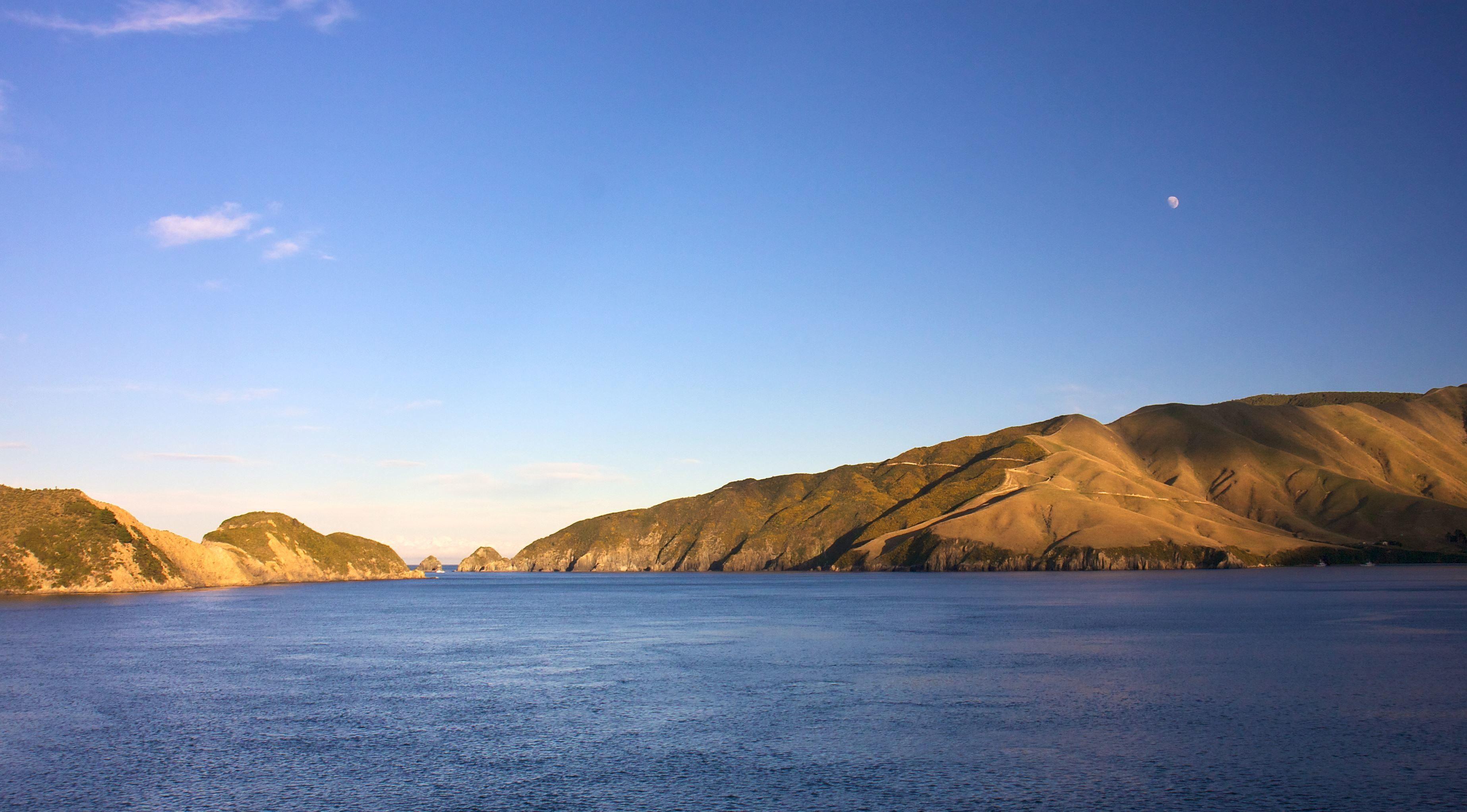 Imagen gratis: tierra, cielo, agua, lago, montañas, Costa