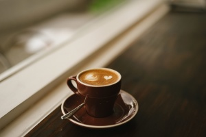 tasse à café, boisson, expresso, tasse, cappuccino, table
