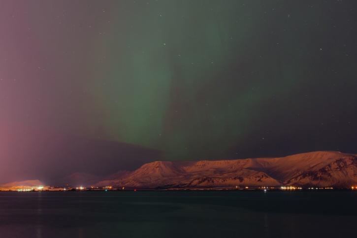 malam, langit, cuaca, astronomi, cahaya, Gunung