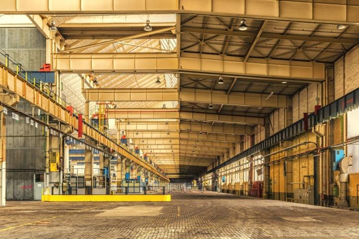 Image libre entrep t architecture b timent commerce for Livres architecture batiment construction