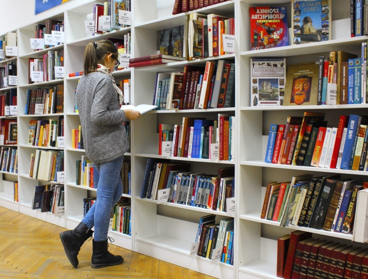 Free Picture: Bookshelf, Library, Books, Textbook