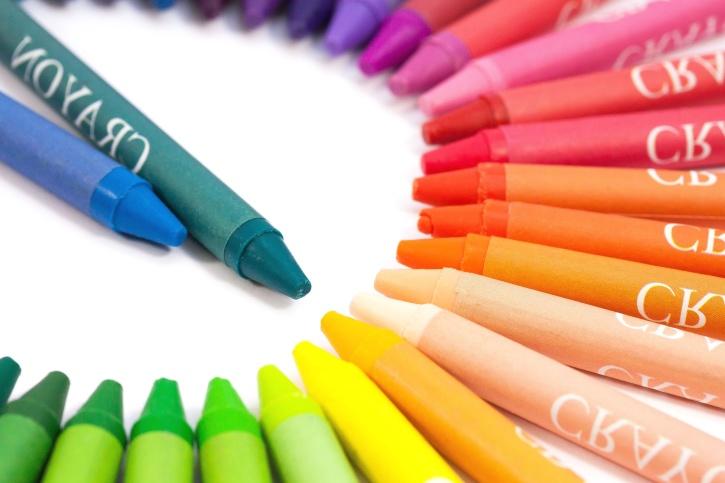 boje, šarene, umjetnost, boje, bojice