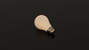 lumière ampoule, énergie, focus, incandescent, lumière