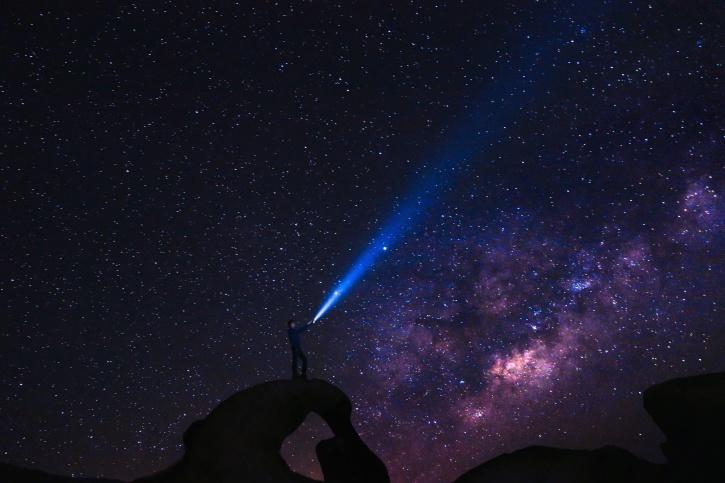 noć, prostor, zvijezda, kozmos, istraživanje, galaksija