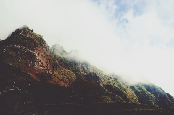 montagne, nature, nuages, brouillard, paysage, ciel