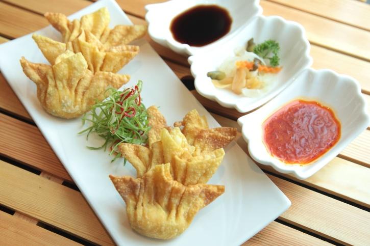 Restaurace, omáčka, tabulka, jídlo, diety, tradiční, předkrm