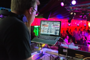 technology, audio, nightclub, computer, discotheque, party, people