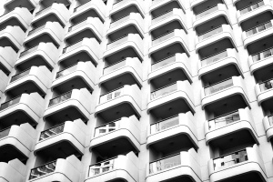 architecture, balconies, building, apartment, architectural
