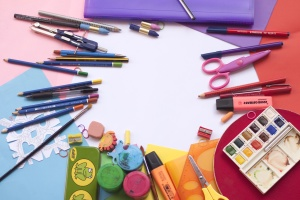 watercolor, work, color, design, desk, education, equipment
