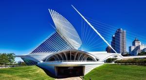 budovy, mesto, moderné, architektúry, umenia, múzeum
