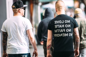 street, text, urban, hat, men, people, bald