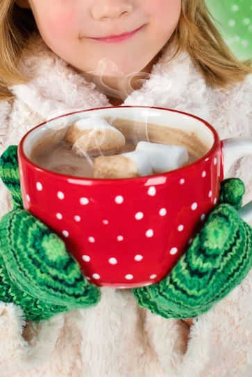 girl, hot, chocolate, mug, person, cocoa, ceramic