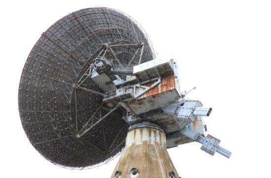antenna, receiver, satellite, sky