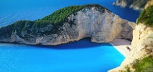 montaña, vacaciones, agua, mar, playa, isla, paisaje