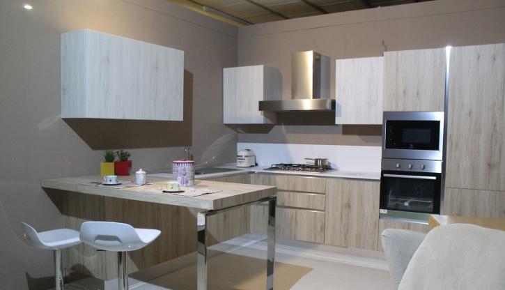 Apartman, belső, bútor, architektúra, design, konyha, sütő, belső