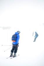 olahraga Ski, salju, olahraga, dingin, dingin, kabut, es