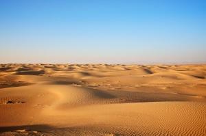 dunes de sable, désert, nature, sable, ciel
