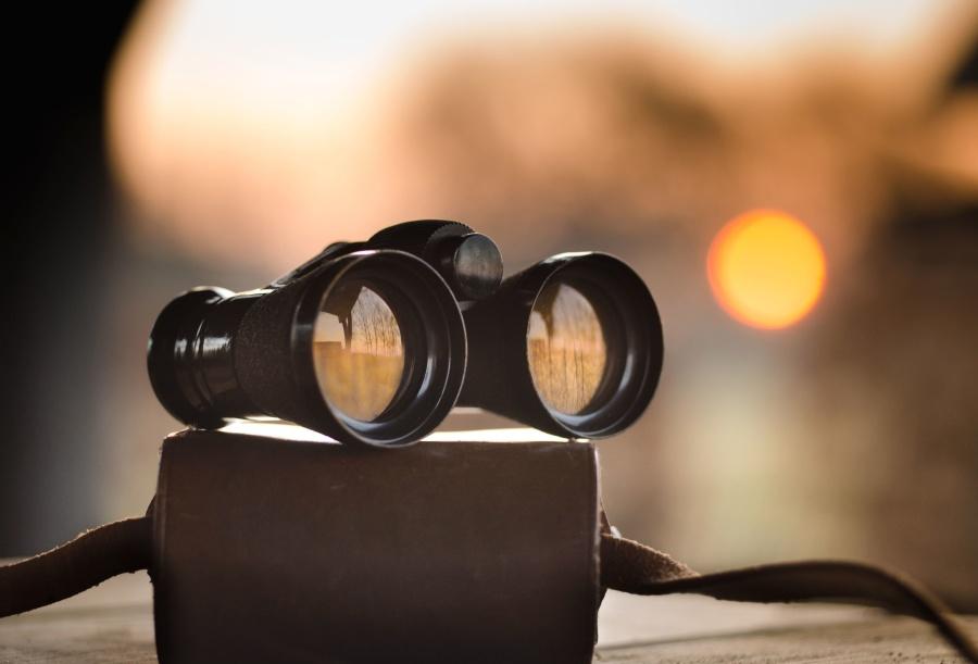 binoculars, macro, device