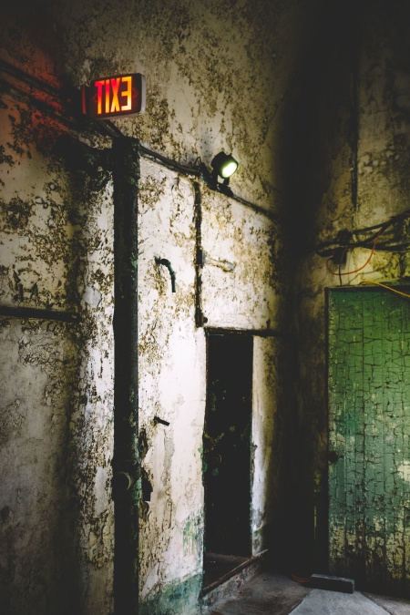 wall, abandoned, architecture, building, light