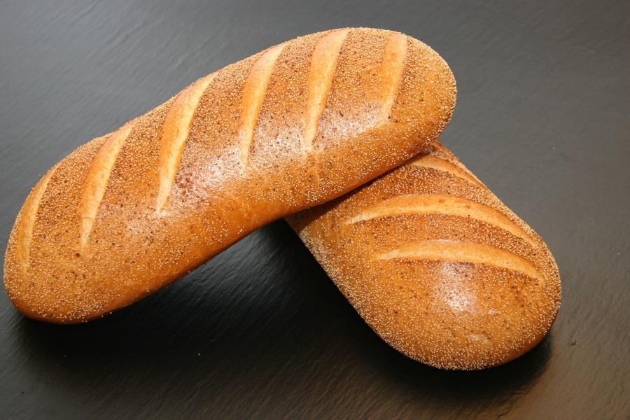 baguette, bakery, bread, breakfast, dough, flour, food